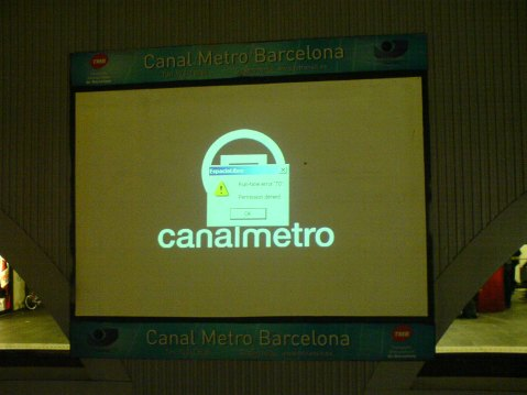error metro